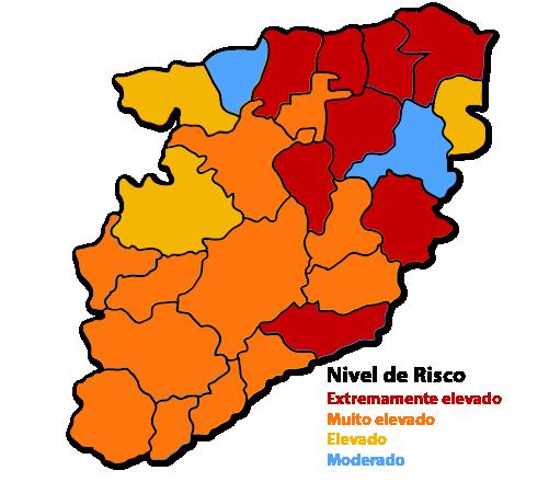 Distrito de Viseu: +460